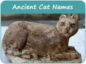 Ancient Cat Names