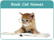 Book Cat Names