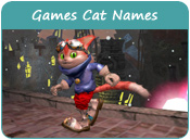Video Games Cat Names