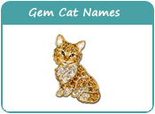 Gem Cat Names