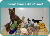 Gemstone Cat Names