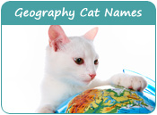 Geography Cat Names