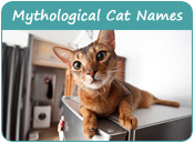 Mythological Cat Names