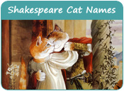 Shakespeare Cat Names