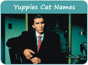 Yuppies Cat Names
